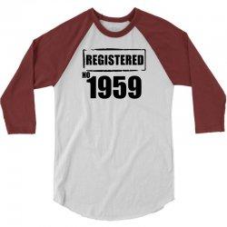 registered no 1959 3/4 Sleeve Shirt   Artistshot