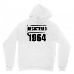 registered no 1964 Unisex Hoodie | Artistshot