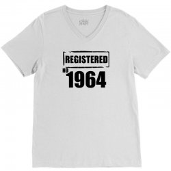 registered no 1964 V-Neck Tee | Artistshot