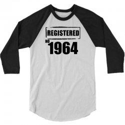 registered no 1964 3/4 Sleeve Shirt | Artistshot