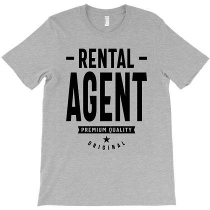 Rental Agent Job Title Gift T-shirt Designed By Cidolopez