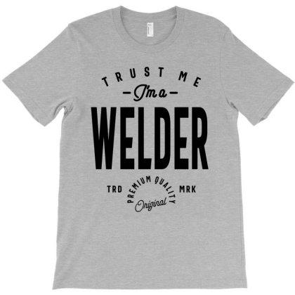 Welder Job Title Gift T-shirt Designed By Cidolopez