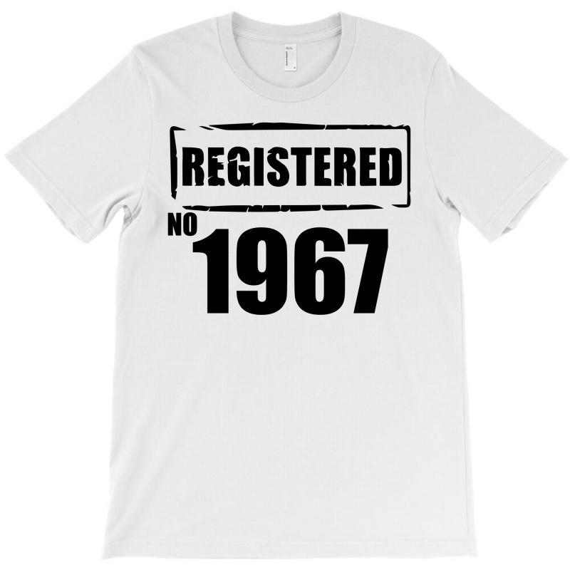 Registered No 1967 T-shirt | Artistshot