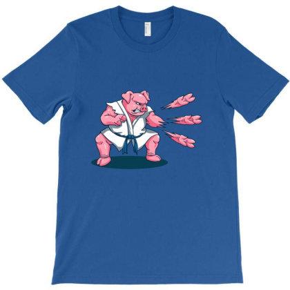 Pork Chops T-shirt Designed By Nerhood