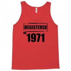 registered no 1971 Tank Top | Artistshot