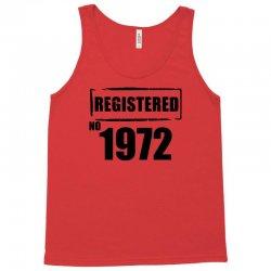 registered no 1972 Tank Top | Artistshot