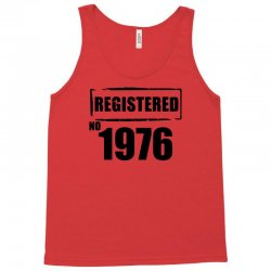 registered no 1976 Tank Top | Artistshot