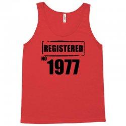 registered no 1977 Tank Top   Artistshot