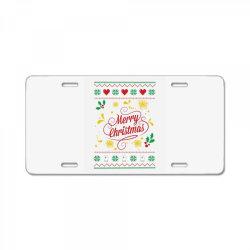 Merry Christmas License Plate | Artistshot