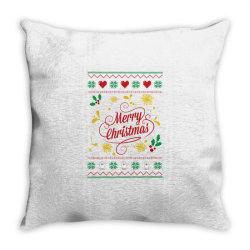 Merry Christmas Throw Pillow | Artistshot