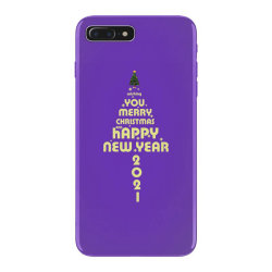 Merry Christmas And Happy New Year iPhone 7 Plus Case | Artistshot