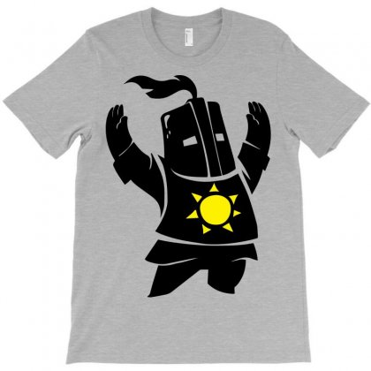 Dark Souls Solaire T-shirt Designed By Hbk