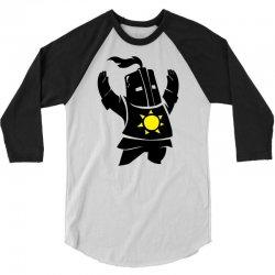 Dark Souls Solaire 3/4 Sleeve Shirt | Artistshot