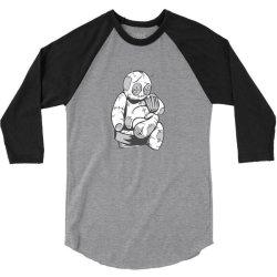 voodoo doll drinking beer 3/4 Sleeve Shirt | Artistshot