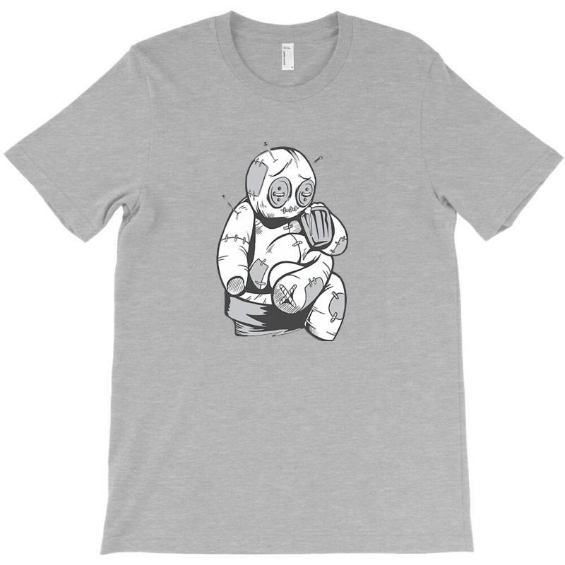 Voodoo Doll Drinking Beer T-shirt | Artistshot