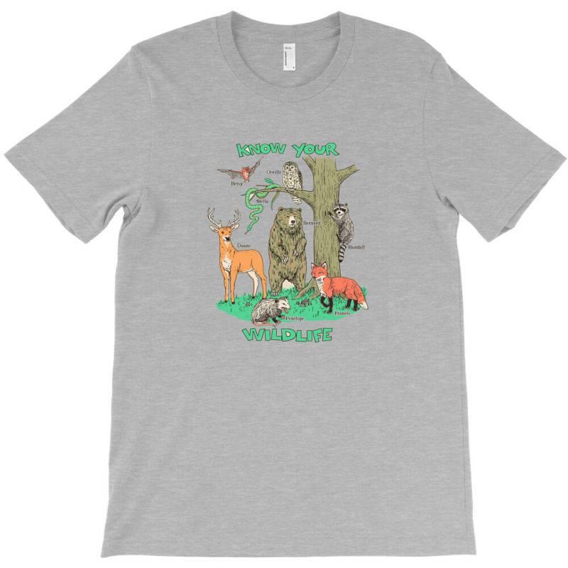 Know Your Wildlife T-shirt | Artistshot