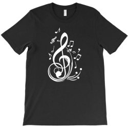 music notes T-Shirt   Artistshot