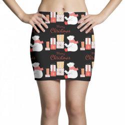 christmas bear Mini Skirts | Artistshot
