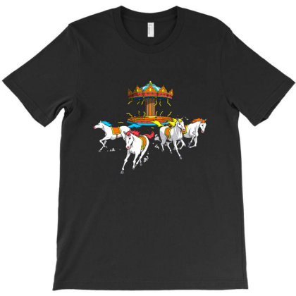 Wild Horses T-shirt Designed By Grendion