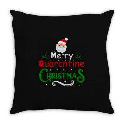 Merry Quarantine Christmas Throw Pillow Designed By Bernstinekelly