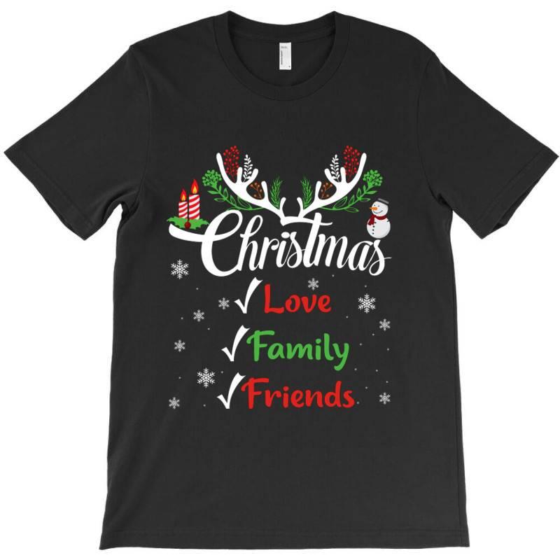 Family Christmas Love Family Friends T-shirt | Artistshot