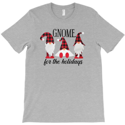 Gnome For The Holidays Christmas T-shirt Designed By Hoainv