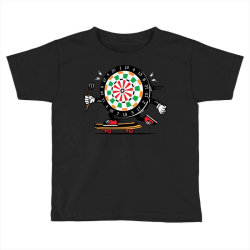 skater skateboard dart game board Toddler T-shirt | Artistshot