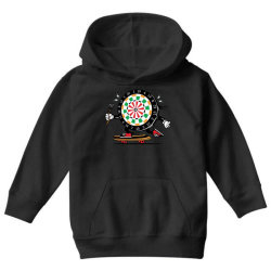 skater skateboard dart game board Youth Hoodie | Artistshot