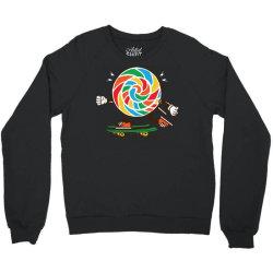 skater skateboard sweet colourful candy Crewneck Sweatshirt | Artistshot