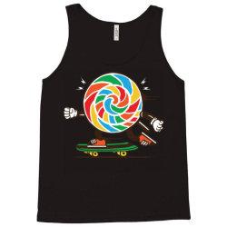 skater skateboard sweet colourful candy Tank Top | Artistshot