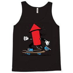 skater skateboard fireworks Tank Top | Artistshot