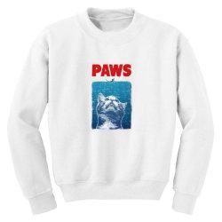 funny cat meow Youth Sweatshirt | Artistshot