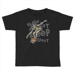 skeleton on the skateboard 1 Toddler T-shirt | Artistshot