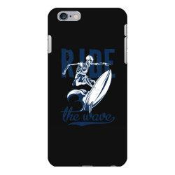 skeleton on surfing board 1 iPhone 6 Plus/6s Plus Case | Artistshot