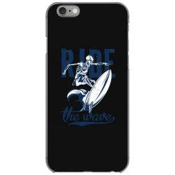 skeleton on surfing board 1 iPhone 6/6s Case | Artistshot