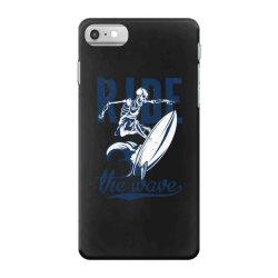 skeleton on surfing board 1 iPhone 7 Case | Artistshot