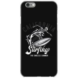 skeleton on surfing board 3 iPhone 6/6s Case | Artistshot