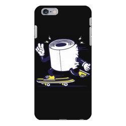 skater tissue roll toilet paper skateboarding iPhone 6 Plus/6s Plus Case | Artistshot