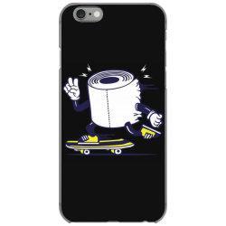skater tissue roll toilet paper skateboarding iPhone 6/6s Case | Artistshot