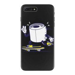 skater tissue roll toilet paper skateboarding iPhone 7 Plus Case | Artistshot