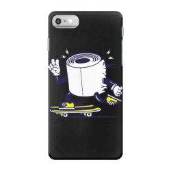 skater tissue roll toilet paper skateboarding iPhone 7 Case | Artistshot
