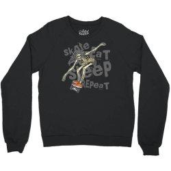 skeleton on the skateboard 1 Crewneck Sweatshirt | Artistshot