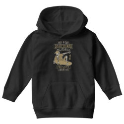 skeleton on the skateboard 5 Youth Hoodie | Artistshot