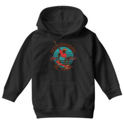 skeleton on the skateboard 8 Youth Hoodie | Artistshot