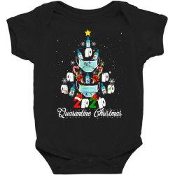 2020 christmas quarantine family matching pajamas xmas Baby Bodysuit | Artistshot
