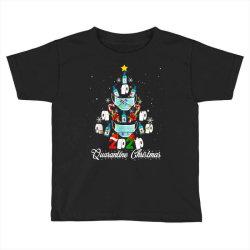 2020 christmas quarantine family matching pajamas xmas Toddler T-shirt | Artistshot
