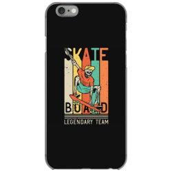 skeleton on the skateboard 9 iPhone 6/6s Case | Artistshot