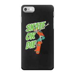 skeleton on the skateboard 4 iPhone 7 Case | Artistshot