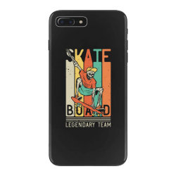 skeleton on the skateboard 9 iPhone 7 Plus Case | Artistshot