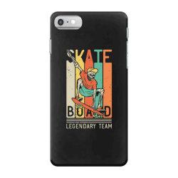 skeleton on the skateboard 9 iPhone 7 Case | Artistshot